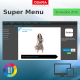SuperMenu Horizontal Top